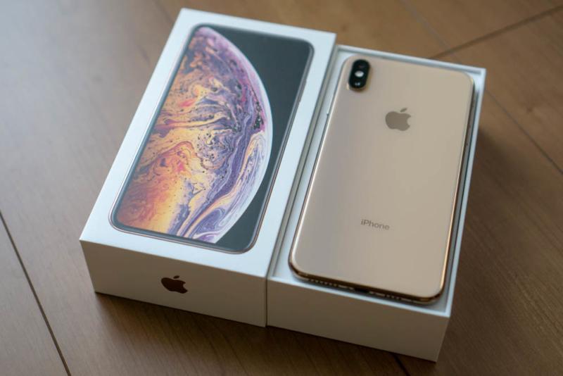 ドコモ版iPhone XS Maxゴールド 256GB