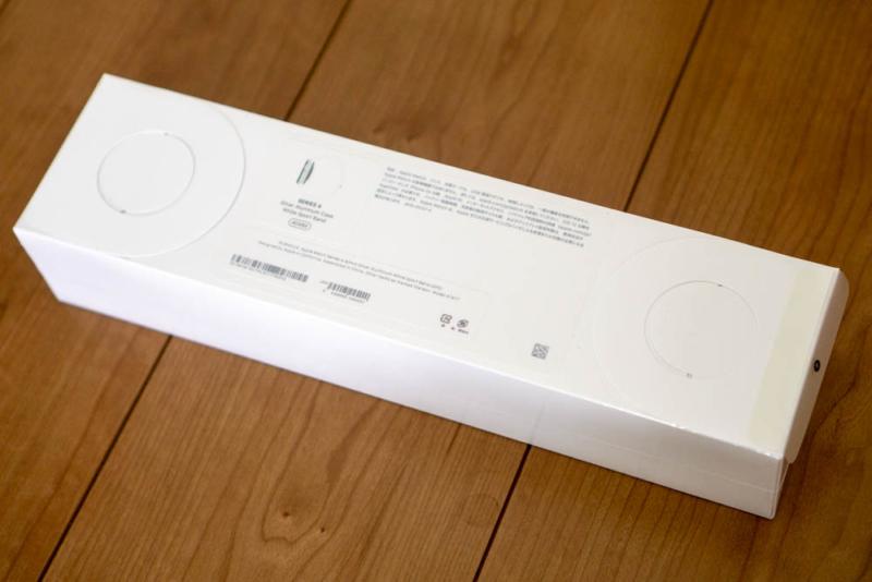 Apple Watch Series 4の化粧箱裏面