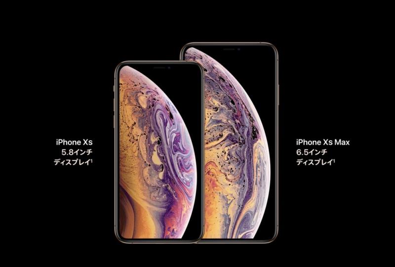 iPhone史上最大の6.5インチディスプレイ