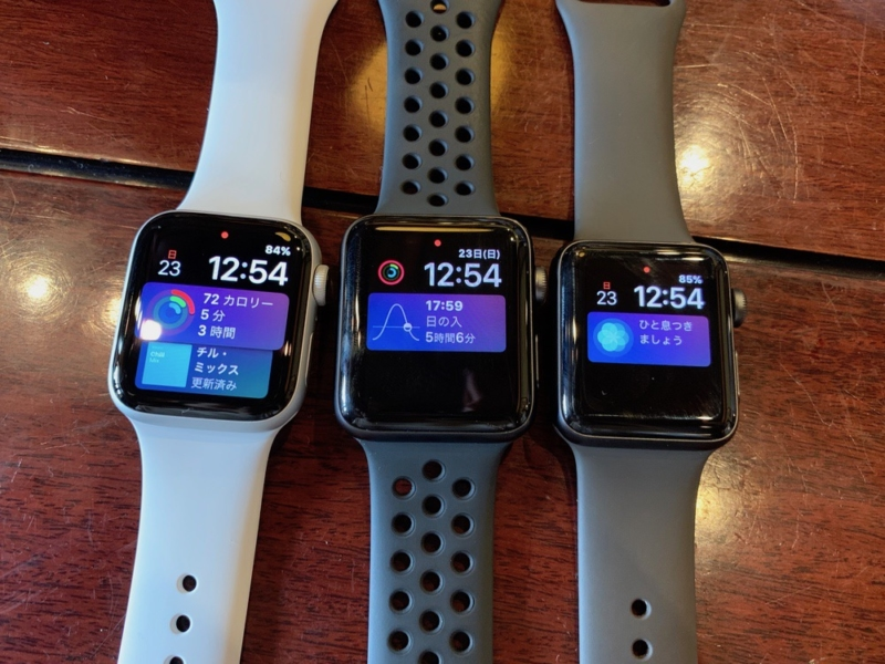 Apple Watchの画面拡大の効果は