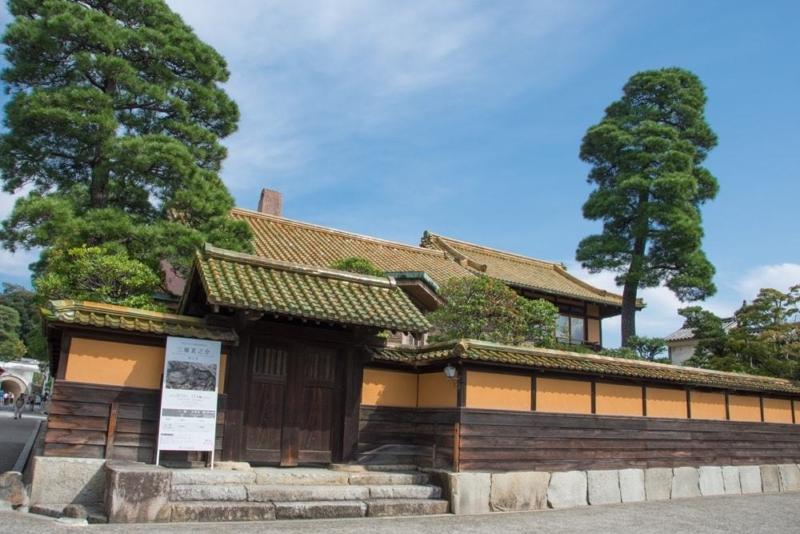 倉敷美観地区内にある有隣荘