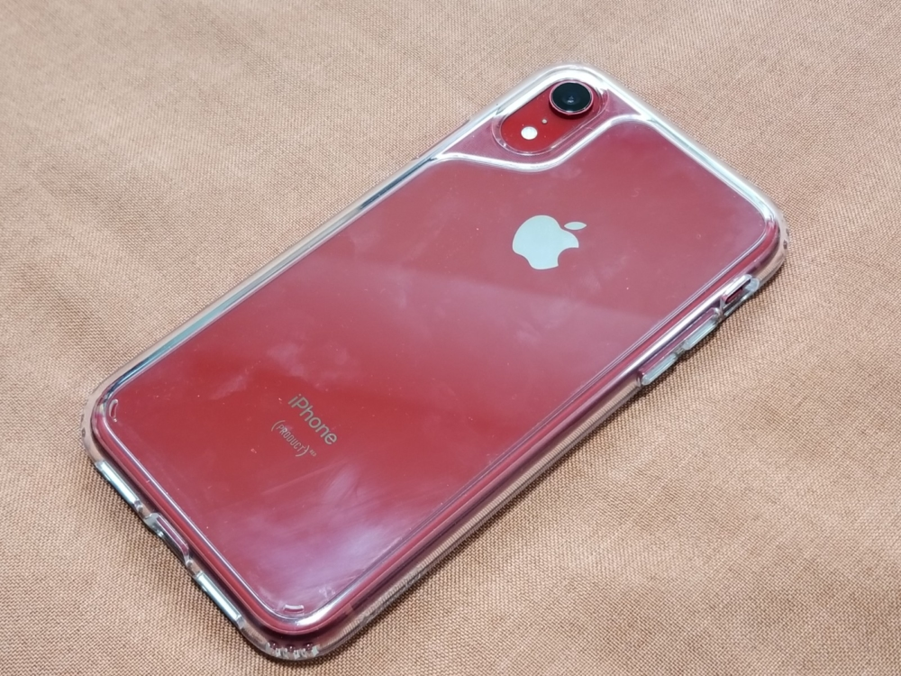 iPhone XRケース「Waterfall」レビュー