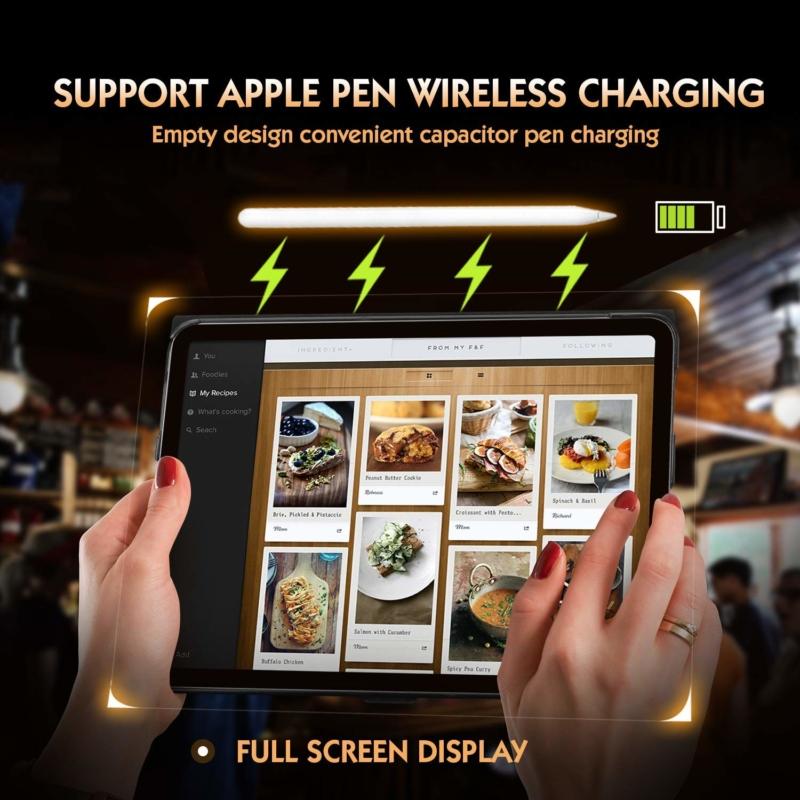 FYY社製 牛本革を使った薄型iPad Proスマートケース