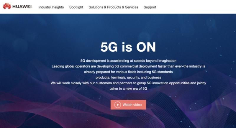5Gの通信設備ではHUAWEIは世界的に排除されそうな雰囲気