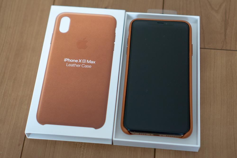 Apple純正iPhoneレザーケースレビュー