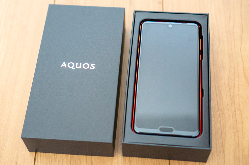 SHARP「AQUOS R3」レビュー