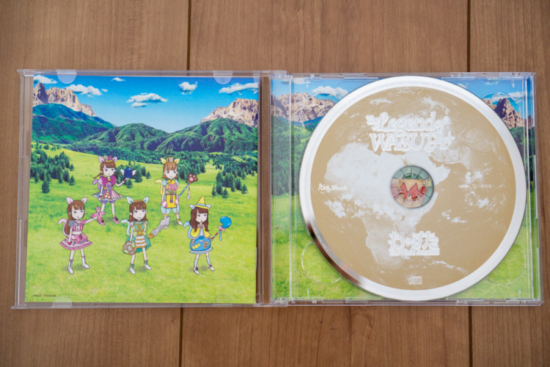 The Legend of WASUTAのCD