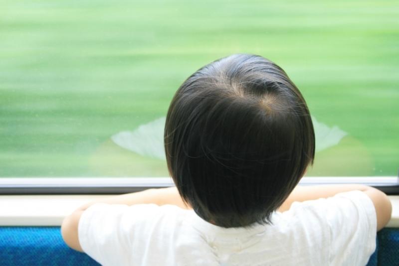 子供と電車