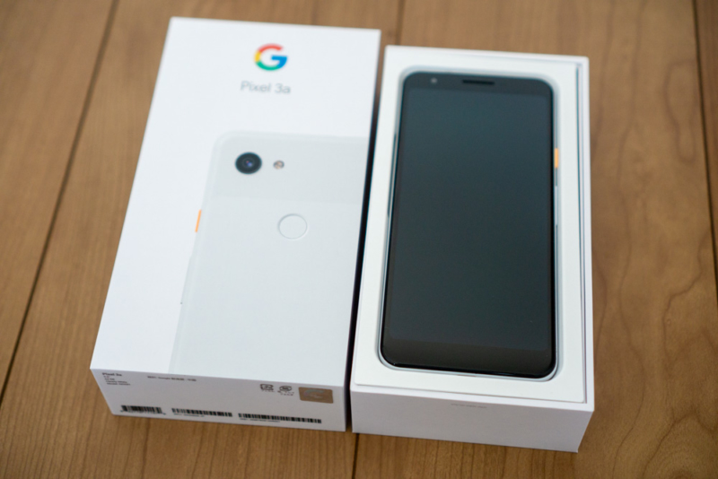 Google「Pixel 3a」