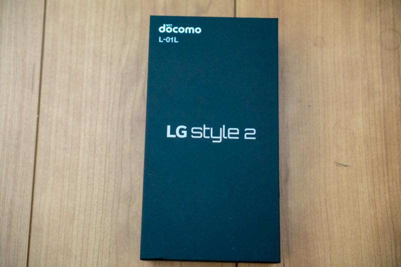 LG style2 L-01Lパッケージ