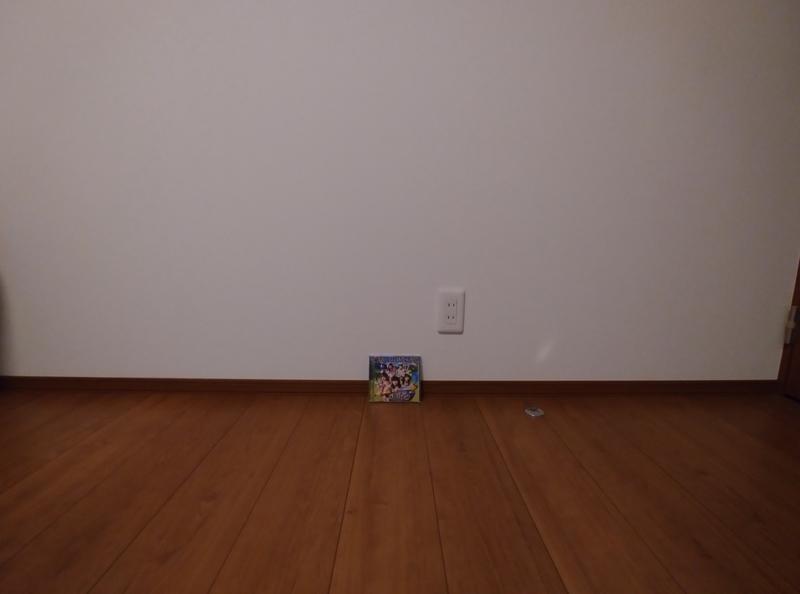LG Style2広角カメラでわーすたのCDを撮影
