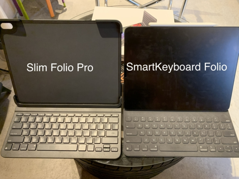 SmartKeyboard FolioとSlim Folio Pro比較