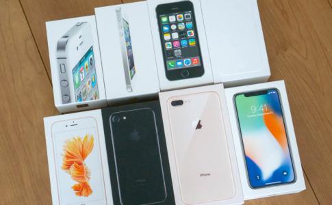 iPhone販売価格の推移とアメリカとの比較