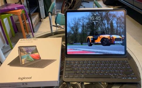 Logicool iPad Pro用キーボード「Slim Folio Pro iK1273」