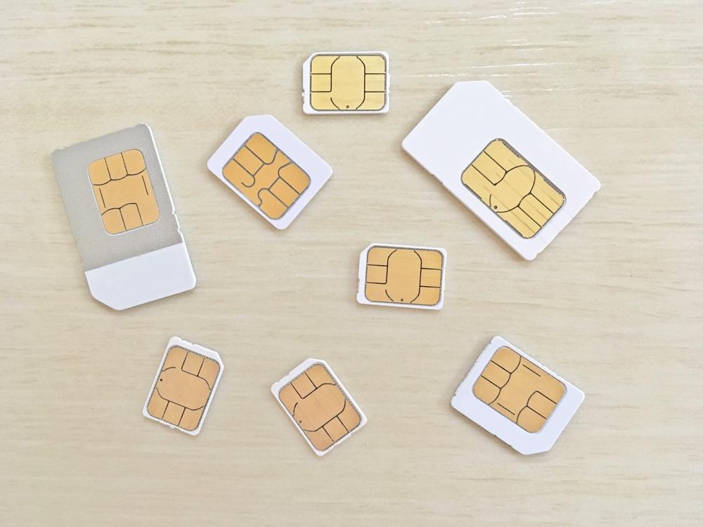 eSIMではなくSIMカードが主流の日本