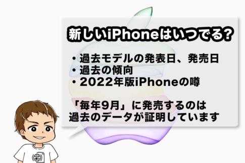 2022年iPhoneの噂