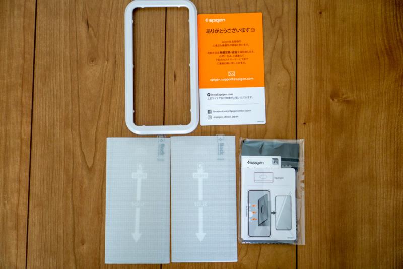 「Glas.tR AlignMaster」の同梱品