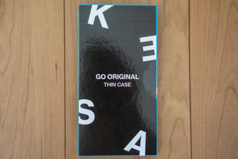 KASE「Go Original iPhone XRスリムケース」パッケージ