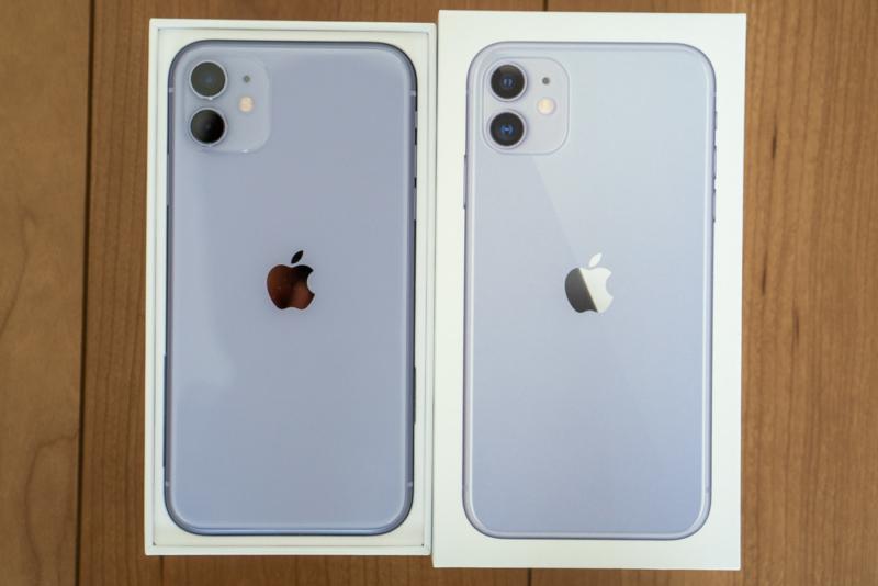 iPhone 11開封