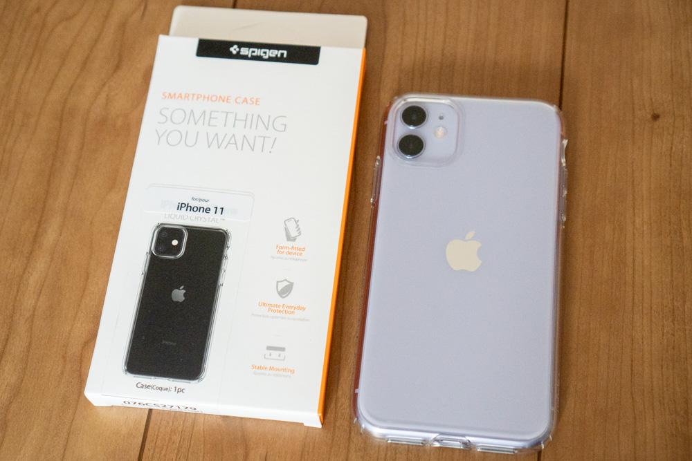 Spigen iPhone 11・iPhone 11 Pro対応ケース「リキッド・クリスタル」レビュー