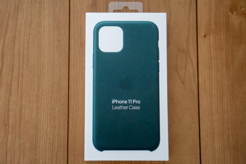 Apple純正iPhone用レザーケースパッケージ