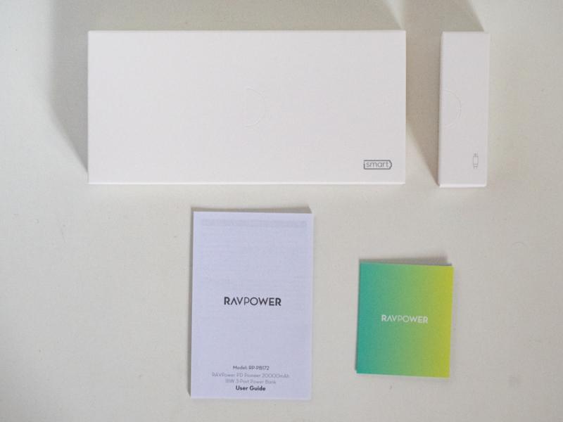 RAVPowerRP-PB172 内容物