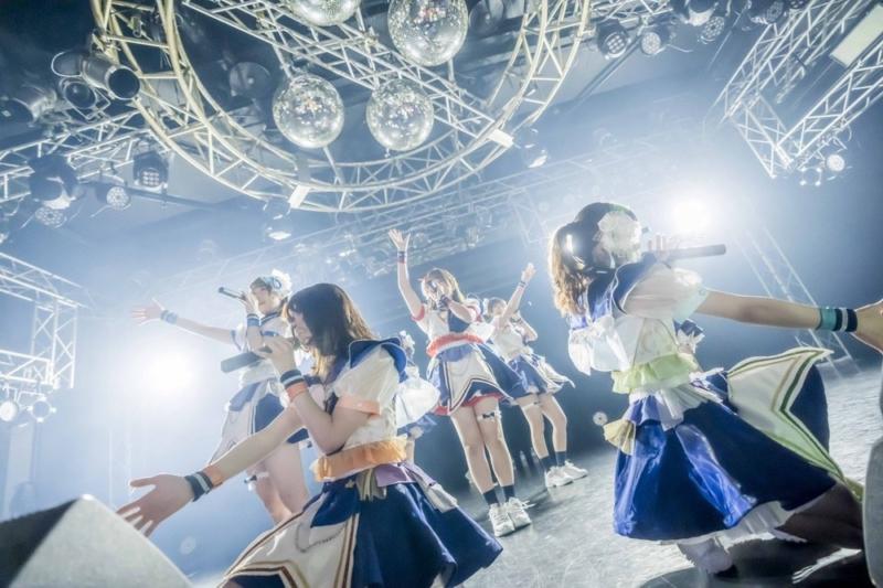 煌めき☆アンフォレント4周年ライブのステージ