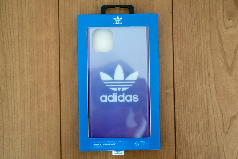 「adidas Originals SQUARE CASE FW19」パッケージ