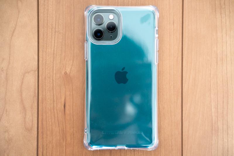 iPhone 11 Pro クリアケース「CRYSTAL AQUA」レビュー