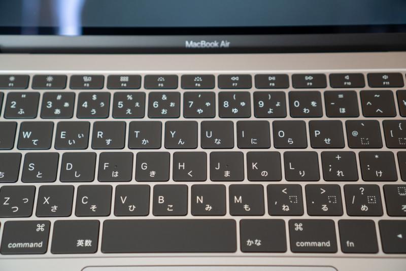 MacBook Airバタフライキーボード
