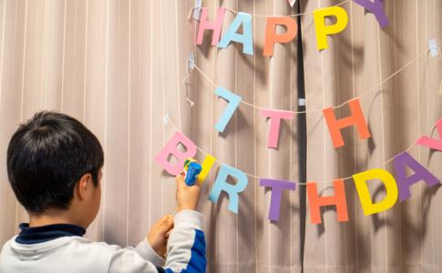 長男7歳の誕生日