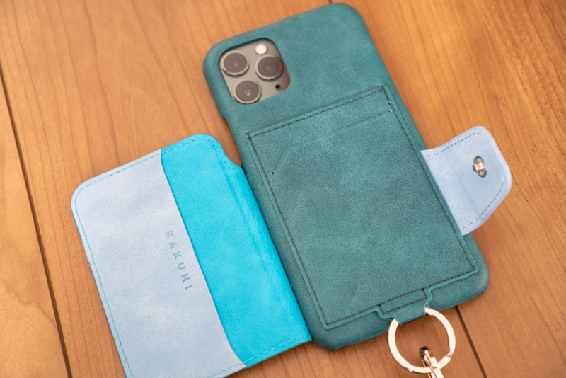 iPhone 11 Pro背面手帳型ケース「RAKUNI」レビュー