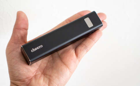 cheero Power Plus 5 Stick 5000mAh(CHE-108)レビュー