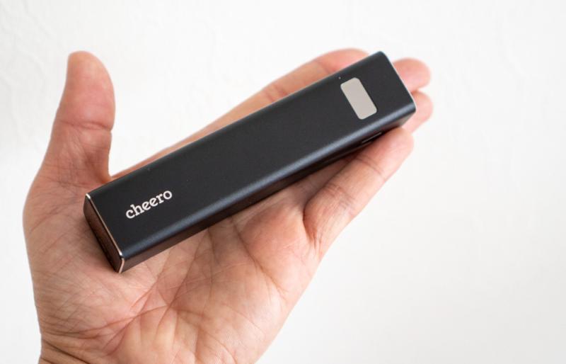 cheero Power Plus 5 Stick 5000mAh(CHE-108)レビュー
