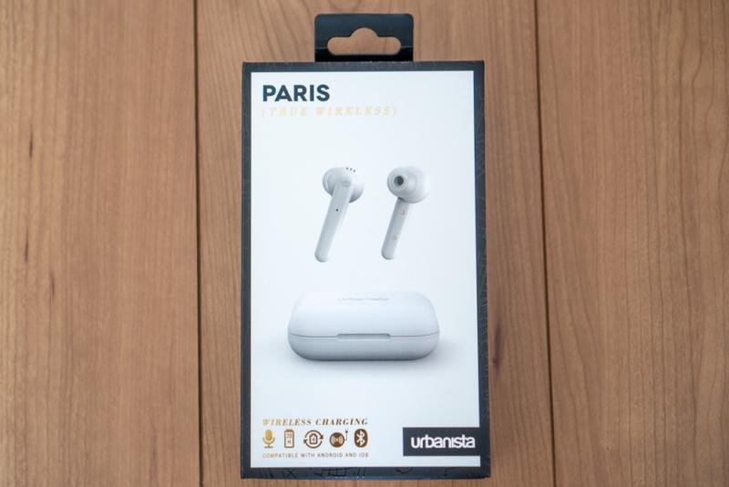 urbnaista PARIS True Wirelessの外観