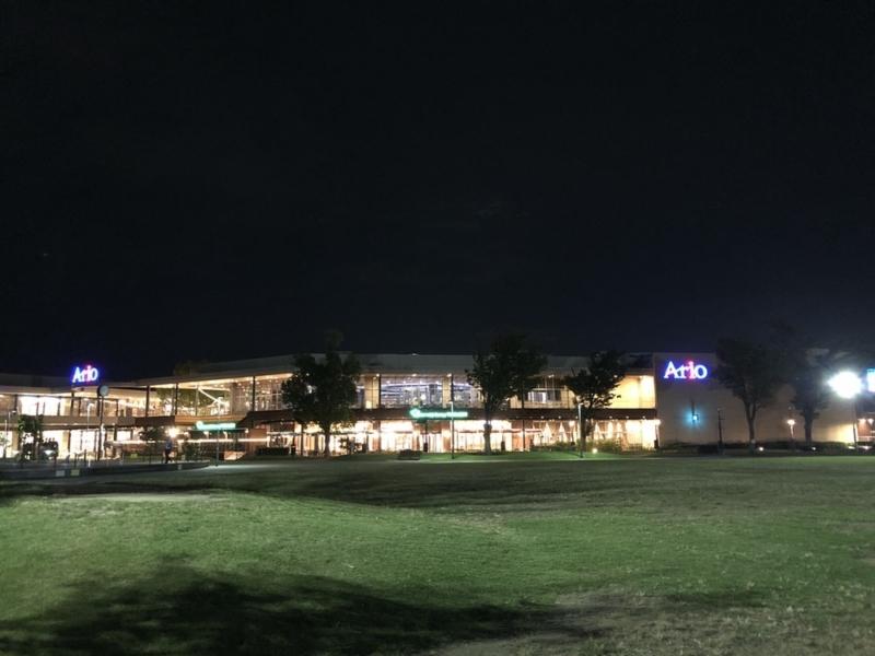 iPhone 8 Plusの夜景撮影2
