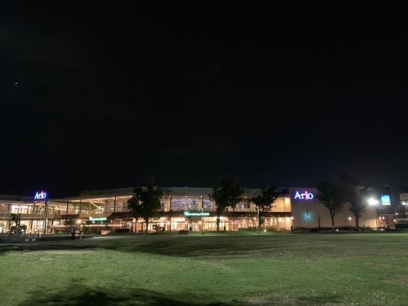 iPhone XRの夜景撮影4