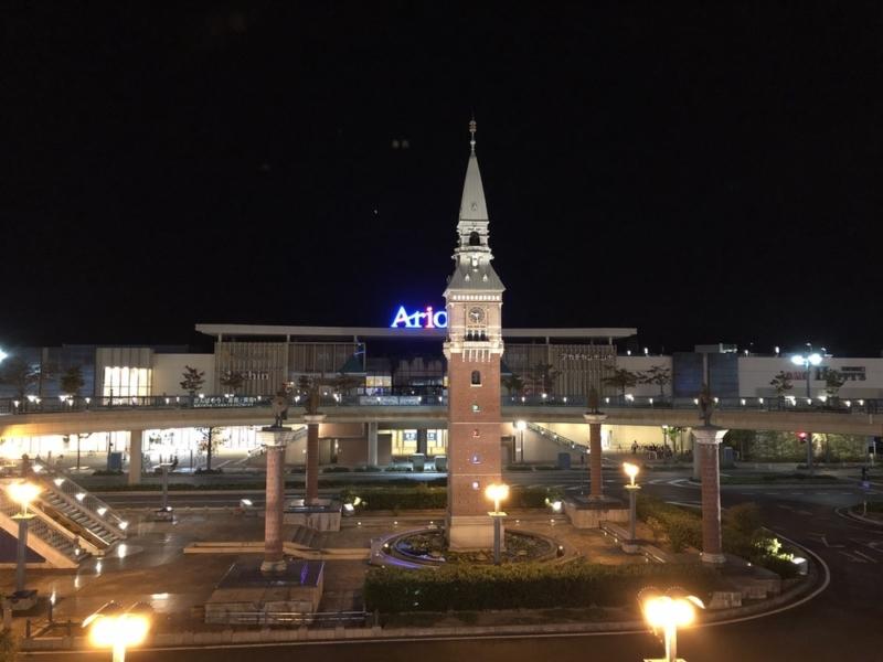 iPhone 8 Plusの夜景撮影1