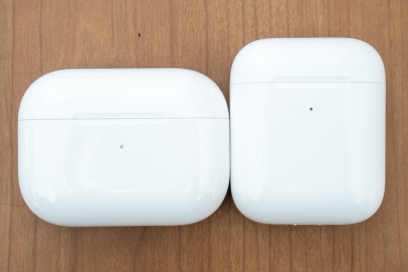 AirPods ProとAirPodsの比較