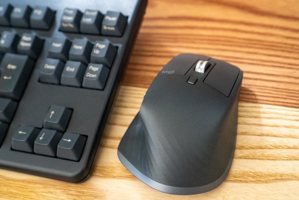 logicoolマウス「MX MASTER 3(MX2200sGR)」レビュー