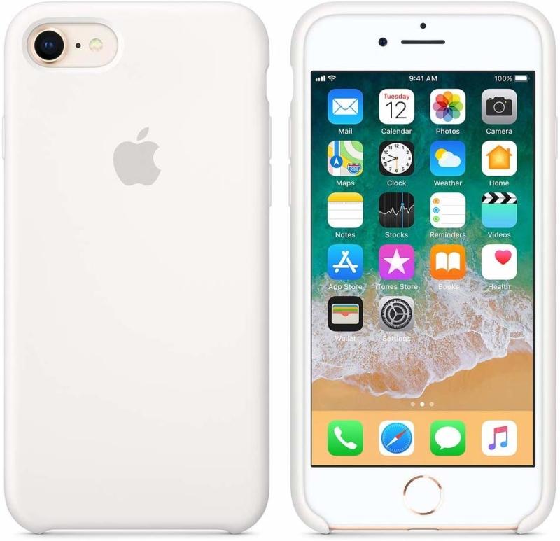 iPhone 8用シリコーンケース