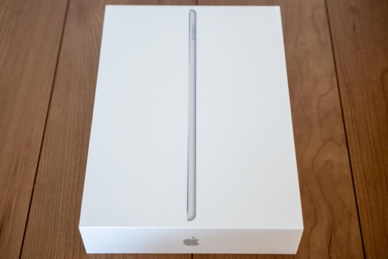 第7世代iPadのパッケージ