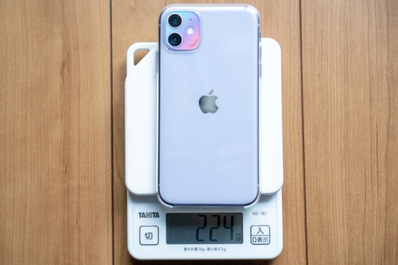 iPhone 11は結構重い