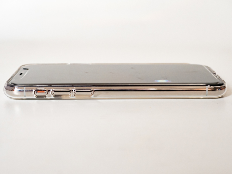 パワーサポート社iPhone11 Proクリアケース「Air Jacket for iPhone11 Pro (Clear)」