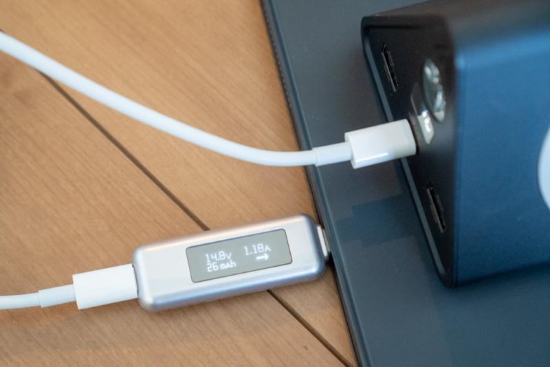 第3世代iPad Proを充電