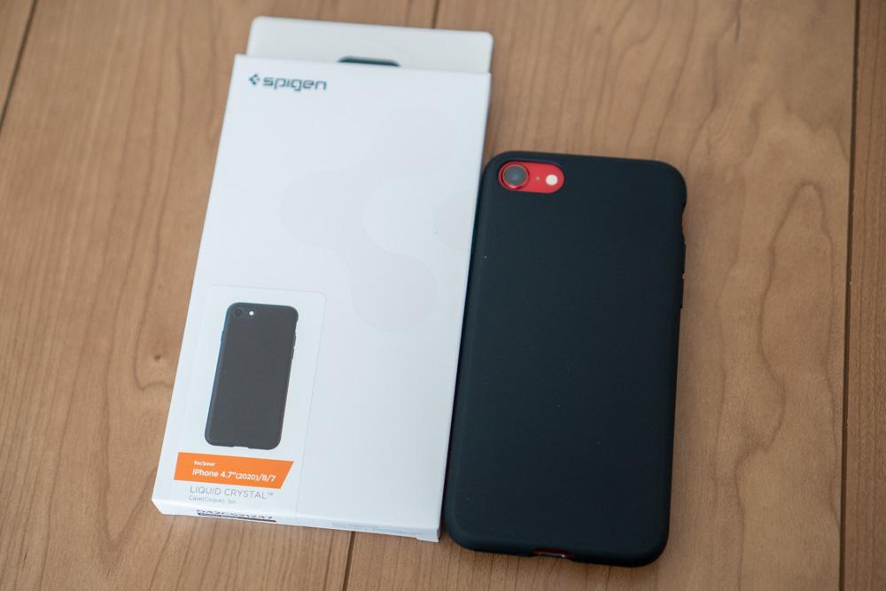 Spigen iPhone SE 第2世代対応ケース「リキッド・クリスタル」レビュー