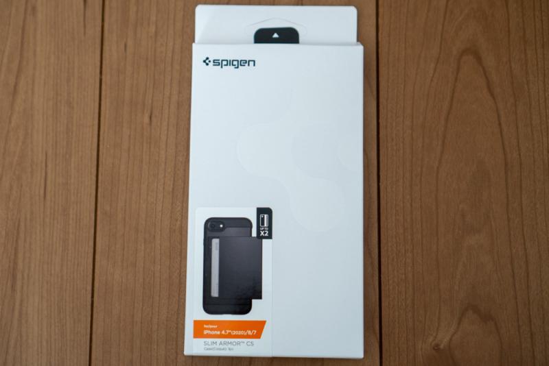 Spigen「スリム・アーマー」パッケージ