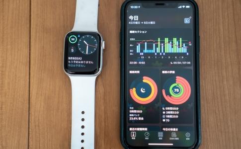 睡眠分析をApple Watchで行うと便利