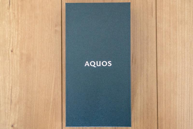 AQUOS R5Gのパッケージ2