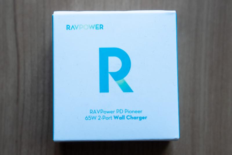 RAVPower「65W USB-C&USB-A充電器 RP-PC133」パッケージ